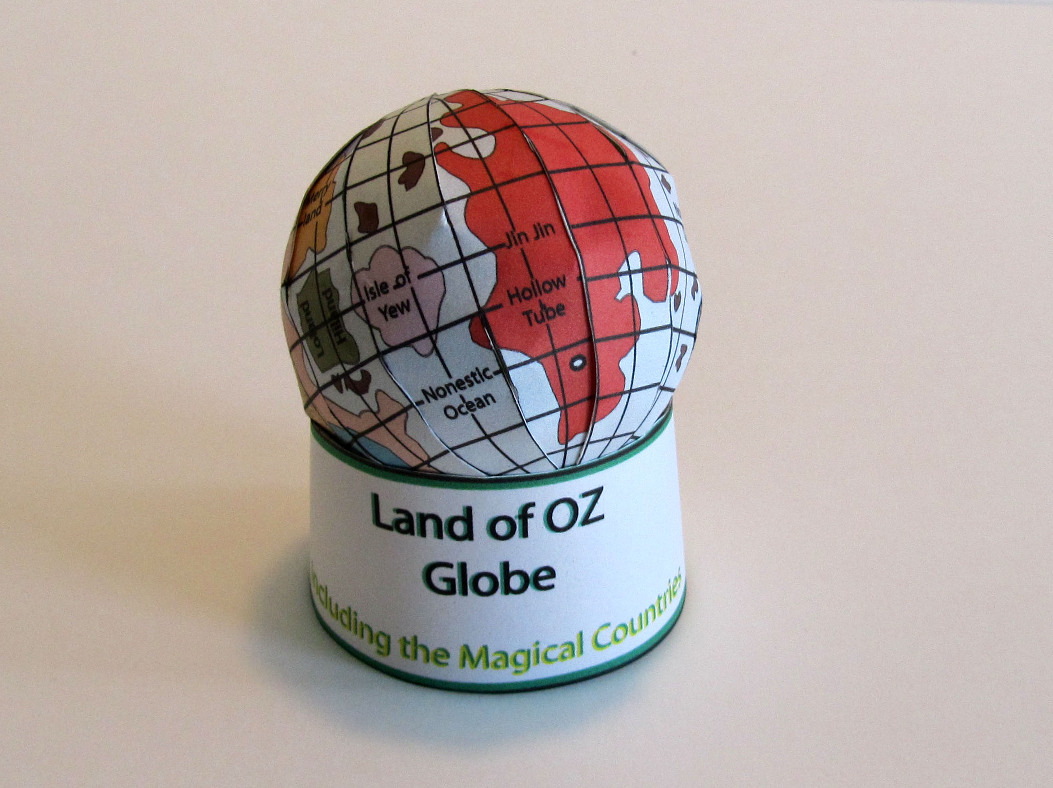 picture of Land of Oz model